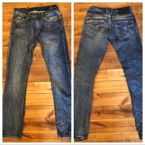 Buffalo Jeans Men's size 28W 33L Used condition